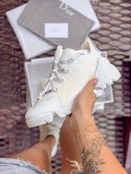 Женские кроссовки 2019 Christian Dior White