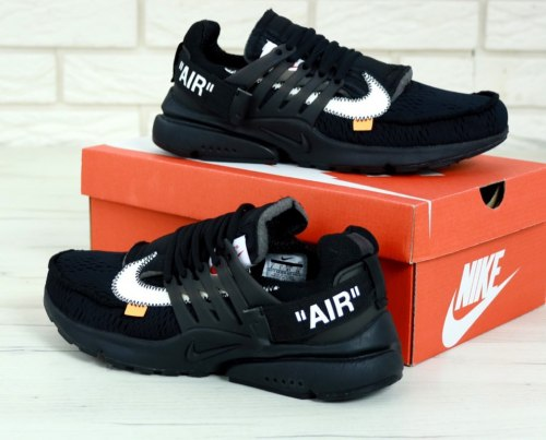 Off-White x Nike Air Presto Black Nike