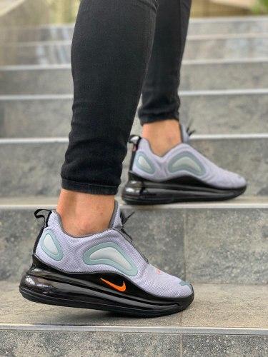 Air Max 720 Grey Orange Black Nike
