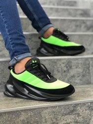 Sharks Boost Black Green Adidas