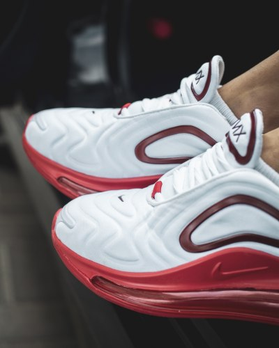 Air Max 720 White Red Nike