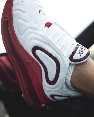 Air Max 720 White Red Nike