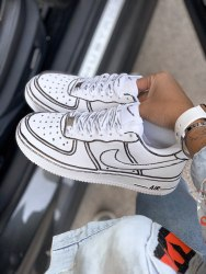 Air Force Graffiti Low Women Nike