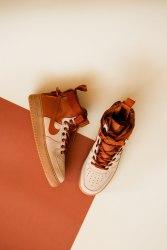 Air Force SF Hight Brown Nike