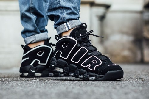 AIR MORE UPTEMPO Black/White Nike