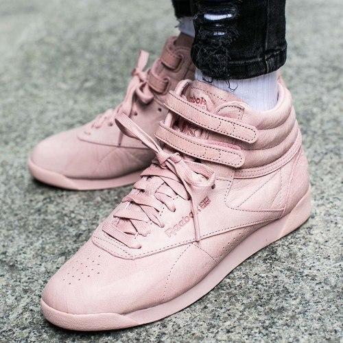 "Кроссовки оригинал Freestyle HI FBT ""Polish Pink"" (BS6279) Reebok"