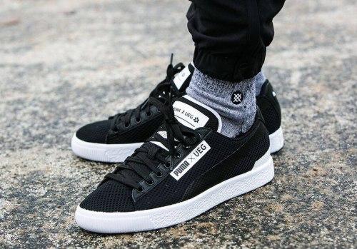 UEG x Puma Court Star Black Puma