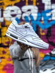 Air Max 1 Sketch To Shelf Schematic White Nike