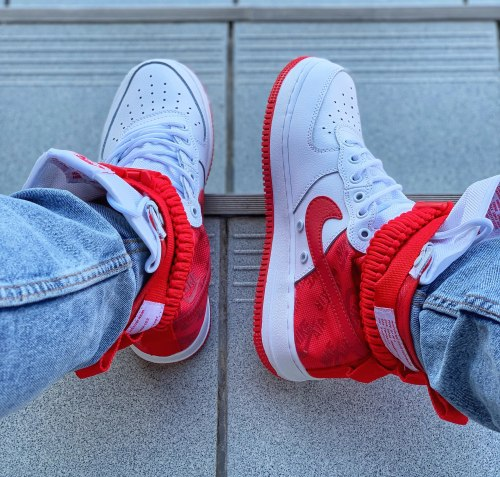 Air Force SF High 'University Red' Nike