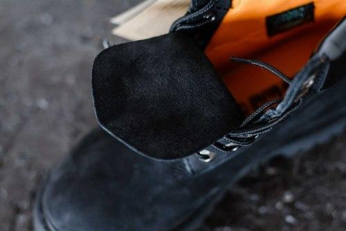 БОТИНКИ TIMBERLAND PREMIUM NUBUCK WATERPROOF BLACK (БЕЗ МЕХА) Timberland