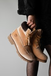 БОТИНКИ TIMBERLAND x OFF WHITE GINGER (БЕЗ МЕХА) Timberland