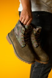 БОТИНКИ TIMBERLAND MILITARY BROWN (БЕЗ МЕХА) Timberland