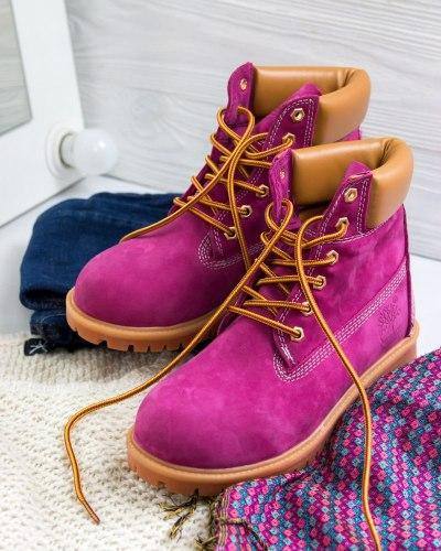 РАСПРОДАЖА Timberland Pink (БЕЗ МЕХА) Timberland