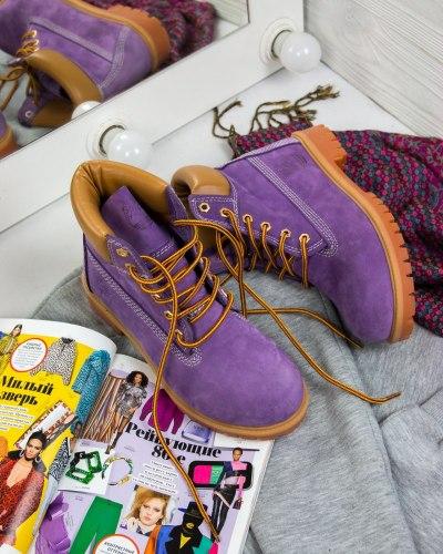 РАСПРОДАЖА Timberland Violet (БЕЗ МЕХА) Timberland