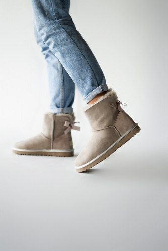 Mini Bailey Bow Gray UGG