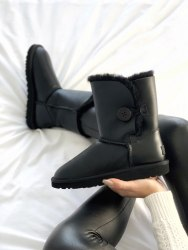 Bailey Button Black UGG