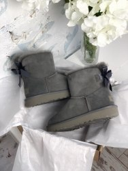 Bailey Bow Mini Gray UGG