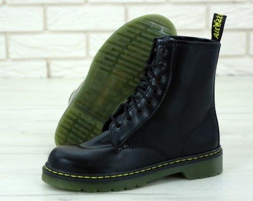 Boots Black Bright (БЕЗ МЕХА) Dr. Martens
