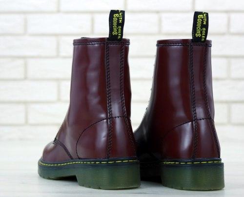 Boots Bordo (БЕЗ МЕХА) Dr. Martens