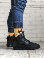 Зимние кроссовки Lunar Duckboot '17 Black (С МЕХОМ) Nike