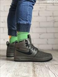 Зимние кроссовки Lunar Duckboot '17 Green (С МЕХОМ) Nike