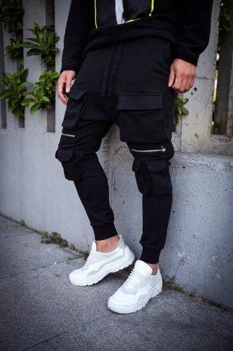 Спортивные штаны Артикул: #ADA1027 2 Black Island