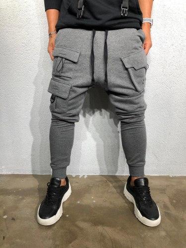 Спортивные штаны Артикул: ada1014 серые Black Island
