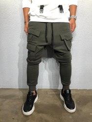 Спортивные штаны Артикул: ada1014 зелёные Black Island