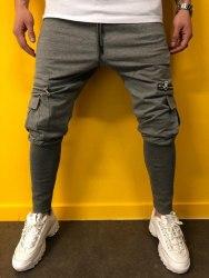 Спортивные штаны Артикул: BRS-5077 тёмно-серые Black Island