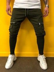 Спортивные штаны Артикул: BRS-5077 хаки Black Island