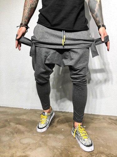 Спортивные штаны Артикул: КА1969 серые Black Island