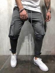 Спортивные штаны Артикул: KA1908 серые Black Island