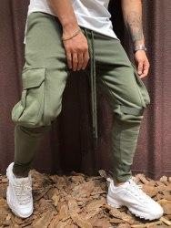 Спортивные штаны Артикул: KA1908 зелёные Black Island