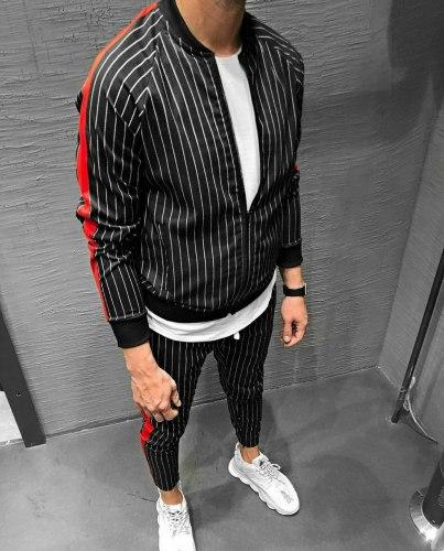 Спортивный костюм 2035-1 Black Island