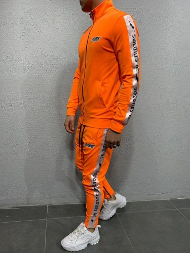 Спортивный костюм 5106 оранж Black Island