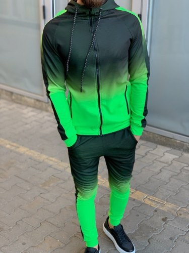 Спортивный костюм BRS-5058 салат Black Island