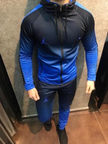 Спортивный костюм NIKE 01 синий Black Island