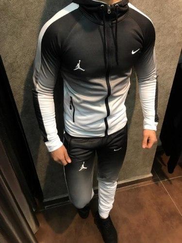 Спортивный костюм NIKE 01 белый Black Island