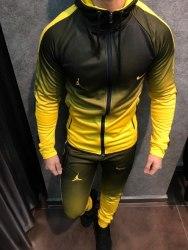 Спортивный костюм NIKE 01 жёлтый Black Island