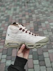 """Кроссовки зимние! Air Max 95 Sneakerboot """"Beige"""" Nike"""