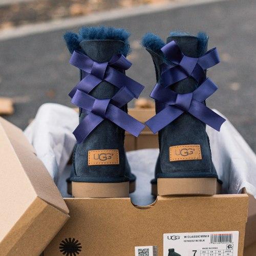 Biley bow II boot Blue UGG