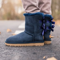 Biley bow II boot Blue UGG