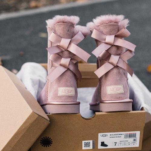 Biley bow II boot Pink Cryctal UGG