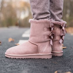 Biley bow II boot Pink Cryctal UGG