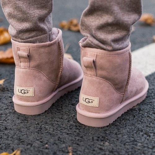 Classic Mini II Boot Pink Crystal UGG