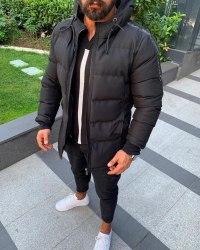 Зимняя Куртка Артикул C33 Black Island