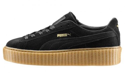 Suede Creeper x Rihanna Black/Oatmeal Puma