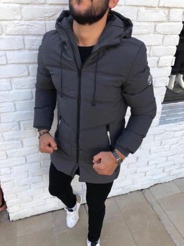 Зимняя Куртка Артикул Kd8 Black Island