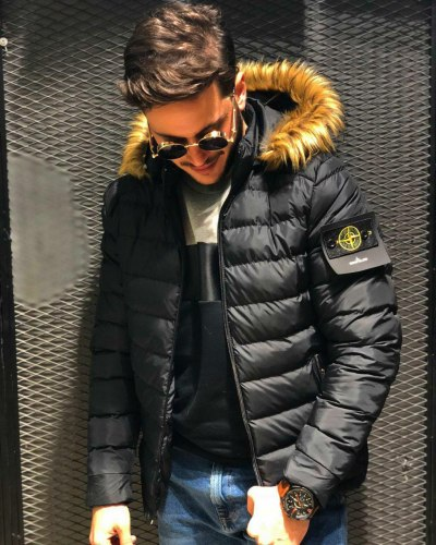 Зимняя Куртка Артикул kz2 Black Island
