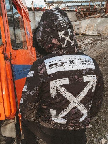 Зимняя Куртка Артикул kz11 Black Island